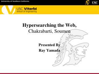 Hypersearching the Web,  Chakrabarti, Soumen