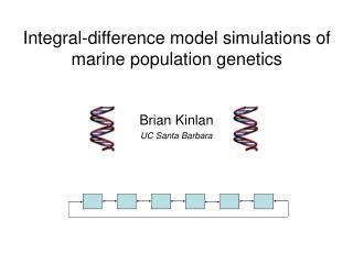 Brian Kinlan UC Santa Barbara