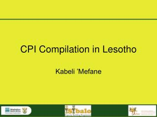 CPI Compilation in Lesotho
