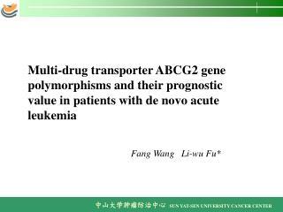 Fang Wang Li-wu Fu*
