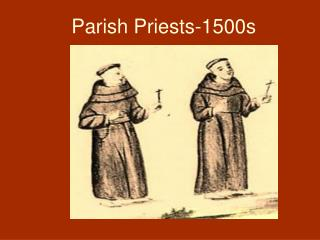Parish Priests-1500s