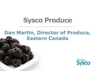 Sysco Produce