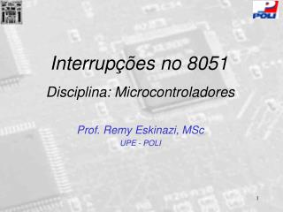 Interrupções no 8051
