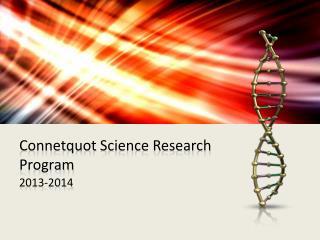 Connetquot  Science Research Program