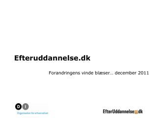 Efteruddannelse.dk
