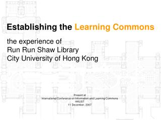 Establishing the Learning Commons