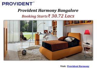 Provident Harmony Start at ₹ 37 Lacs