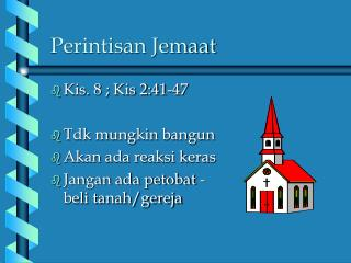 Perintisan Jemaat