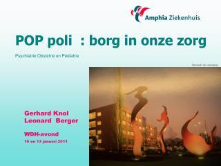 Gerhard Knol      Leonard  Berger  WDH-avond