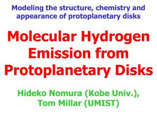 Molecular Hydrogen Emission from Protoplanetary Disks