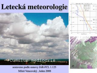 Letecká meteorologie