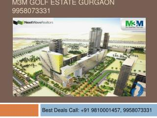 M3M Golf Estate Apartments Gurgaon