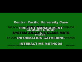 THE FOLLOWING  PREVIEW  HAS BEEN APPROVED FOR SYSTEM ANALYSIS CLASS MATE