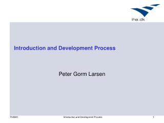 Introduction and Development Process