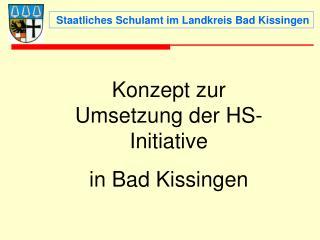 Staatliches Schulamt im Landkreis Bad Kissingen