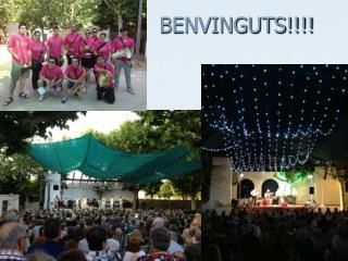 BENVINGUTS!!!!