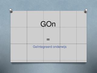 GOn =