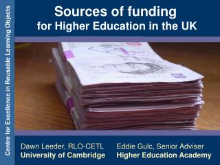 Sources of funding for Higher Education in the UK