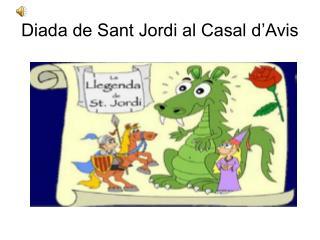 Diada de Sant Jordi al Casal d'Avis