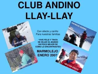 CLUB ANDINO LLAY-LLAY