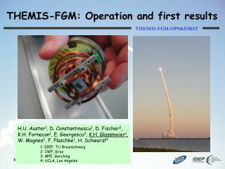 THEMIS-FGM: Operation and first results