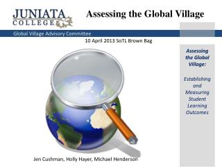 Assessing the Global Village