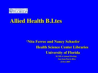 Allied Health B.I.tes