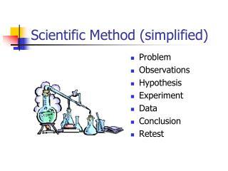 Scientific Method simplified
