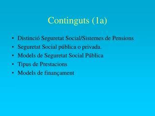 Continguts (1a)