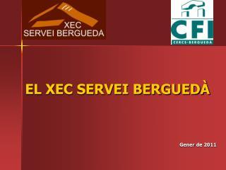 EL XEC SERVEI BERGUEDÀ