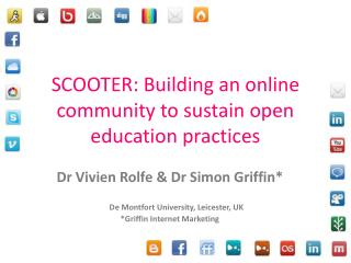 SCOOTER: Building an online community to sustain open education practices