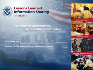 What is  Lessons Learned Information Sharing ?