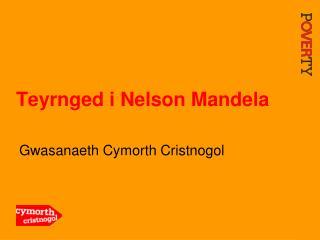 Teyrnged i Nelson Mandela