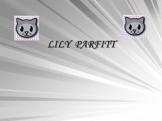 LILY  PARFITT