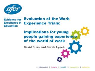 Evaluation of the Work Experience Trials: