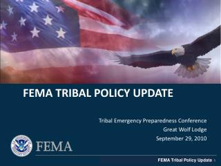FEMA Tribal Policy update