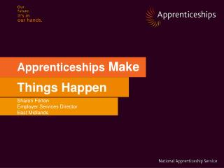 Apprenticeships  Make