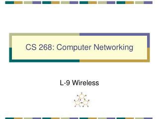 CS 268: Computer Networking