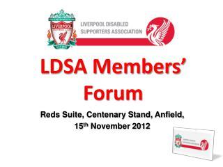 LDSA Members' Forum
