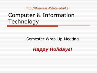Computer & Information Technology