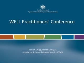 WELL Practitioners' Conference
