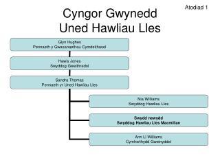 Cyngor Gwynedd Uned Hawliau Lles