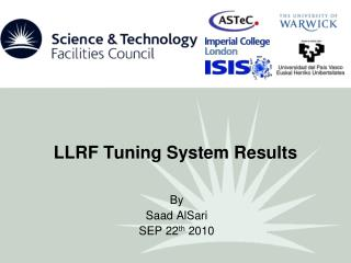 LLRF Tuning System  Results