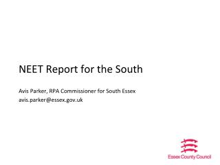NEET Report for the South