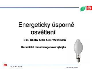 Energeticky úsporné osvětlení
