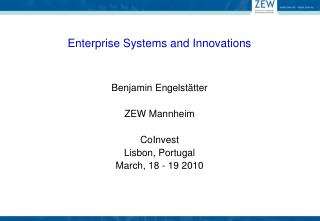 Enterprise Systems and Innovations