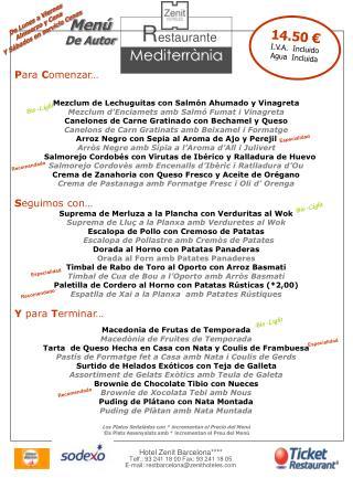 P ara  C omenzar… Mezclum de Lechuguitas con Salmón Ahumado y Vinagreta