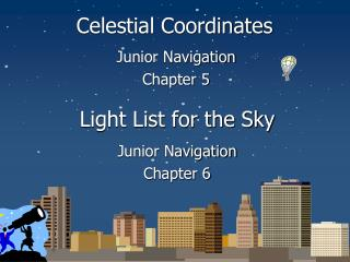 Light List for the Sky