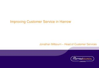 Improving Customer Service in Harrow