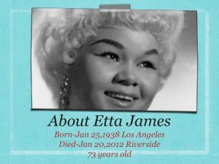 About Etta James